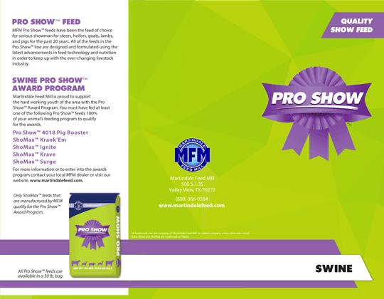 MFM Pro Show™ Swine